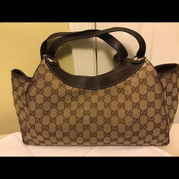 6ec4f2ea2aa6eb Gucci Bags   Charmy Medium Shoulder Bag Brown   Poshmark